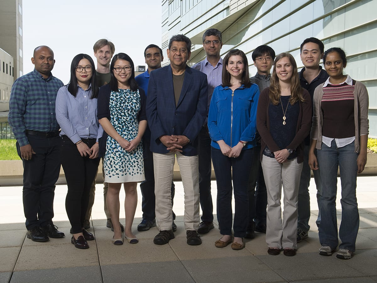 Chakravarti Lab Member Group Photo