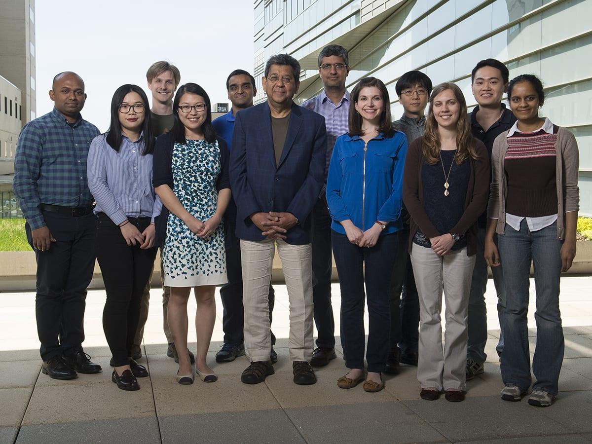 Chakravarti Lab Member Group Photo