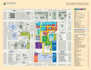 JHMI Visitors Guide Map