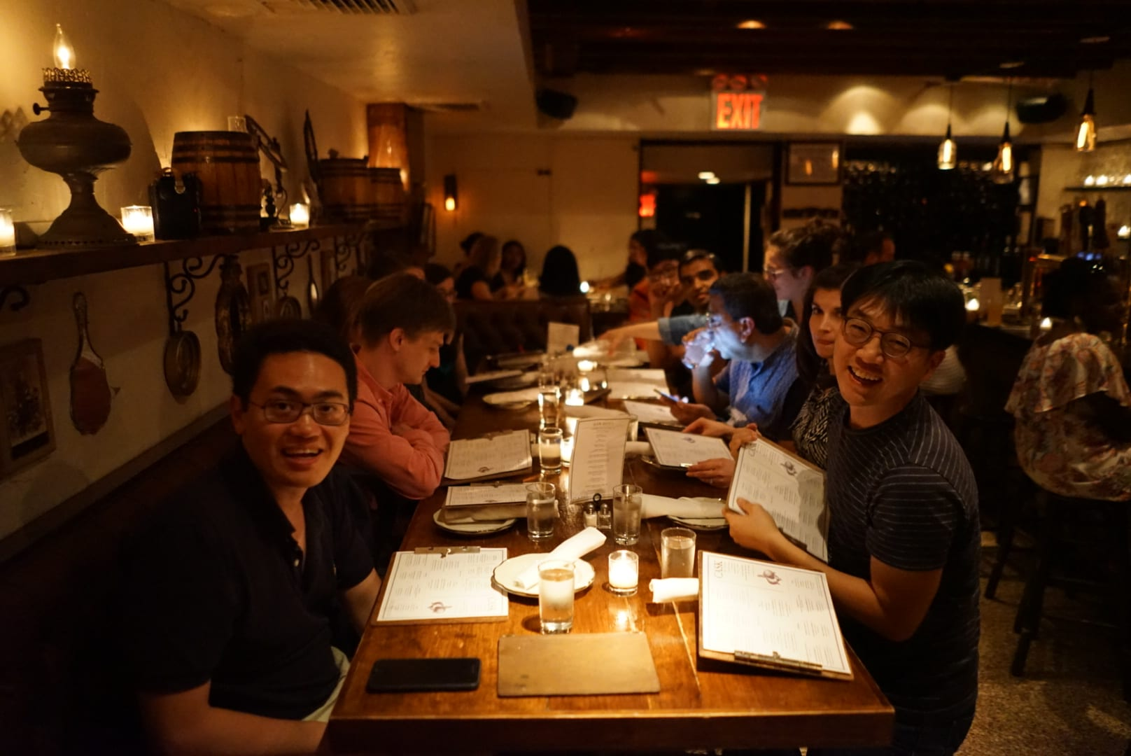 June 29th lab meeting dinner